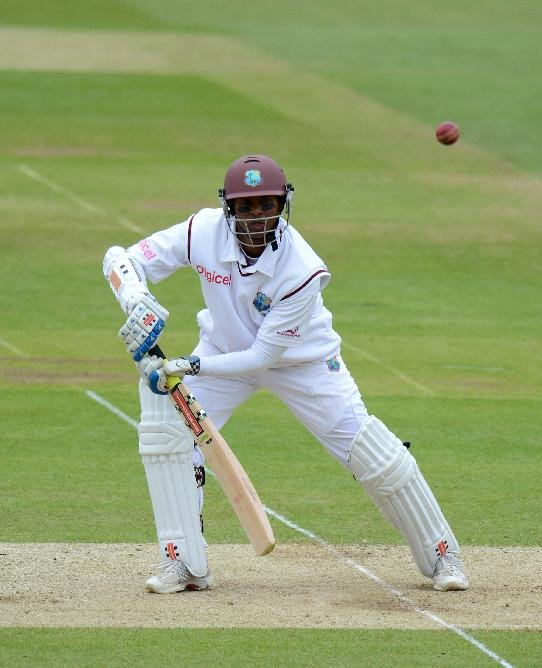Shivnarine Chanderpaul plundered 203 not out as West Indies amassed 527 for four declared