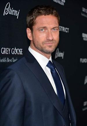 Gerard Butler arrives at the premiere of 'Olympus Has Fallen' at ArcLight Cinemas Cinerama Dome on March 18, 2013 in Hollywood, Calif. -- Getty Images
