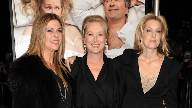 It's Complicated NY Premiere 2009 Rita Wilson Meryl Streep Alexandra Wentworth
