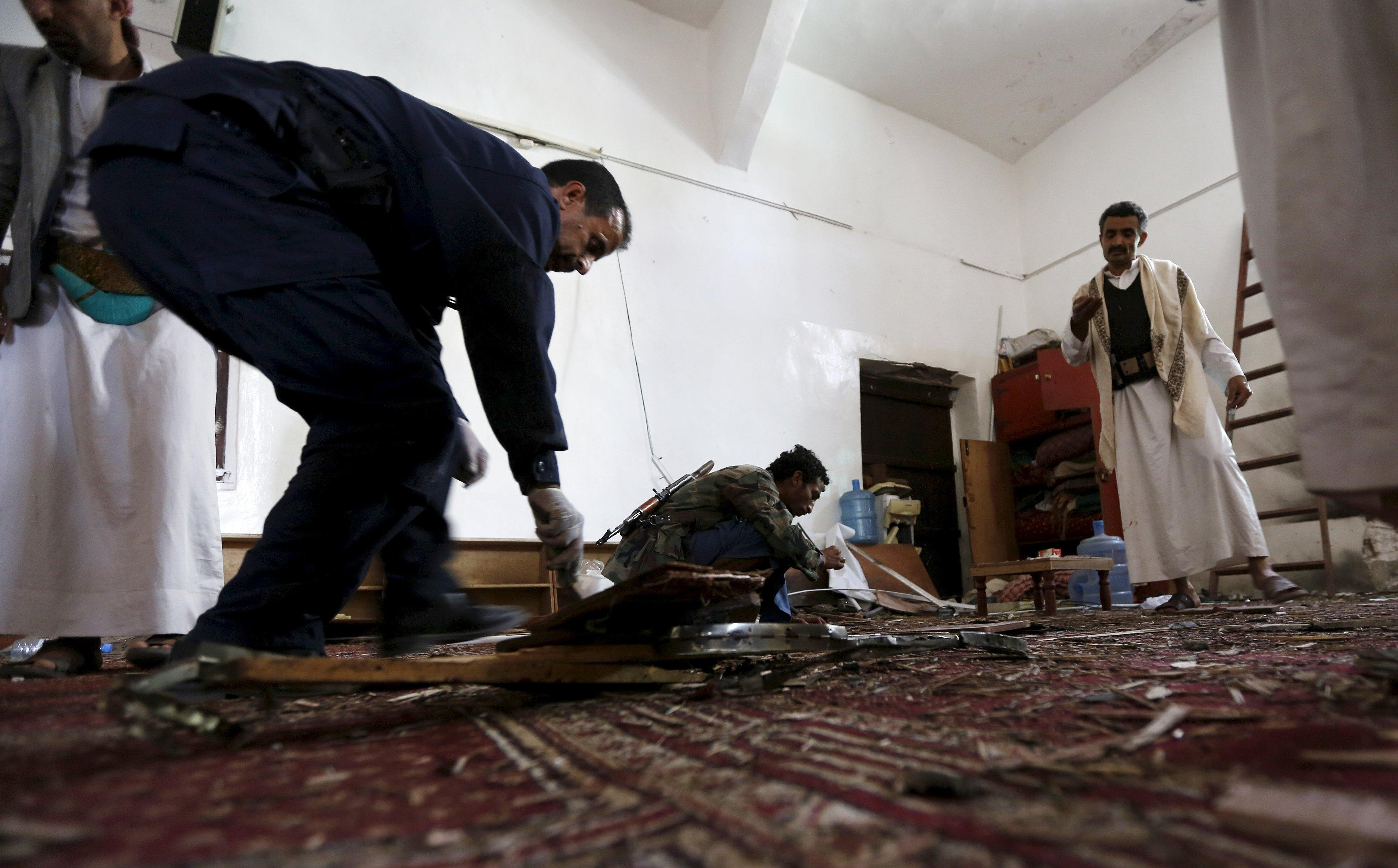 Islamic State claims Yemen mosque attack: Islamic State Twitter statement