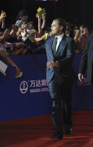 Leonardo DiCaprio walks the red carpet in an event …