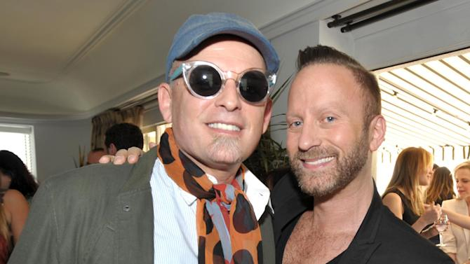 From left, Danilo and Gregory Arlt are seen at the The Hollywood Reporter's Beauty Luncheon held at the Chateau Marmont on Wednesday Nov. 14, 2012 in Los Angeles. (Photo by John Shearer/Invision for THR/AP Images)