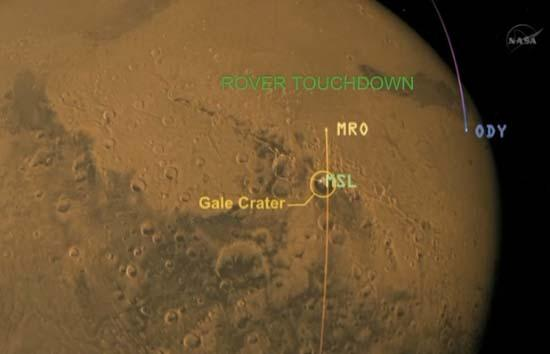 Greetings From Mars! Huge NASA Rover Makes Daring Landing on Red Planet