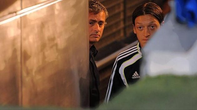 Jose Mourinho Mesut Özil (Real Madrid)