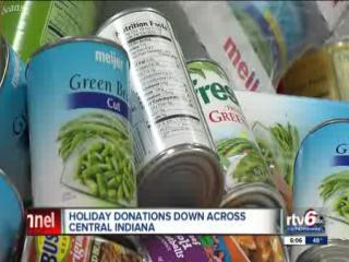 Need up, donations down this holiday