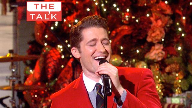 The Talk - Matthew Morrison Performs