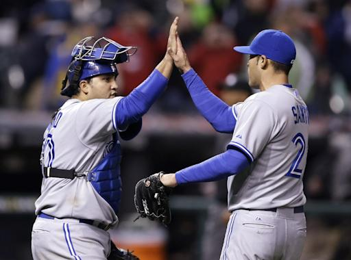 Cabrera gets 4 hits, Blue Jays edge Indians 3-2