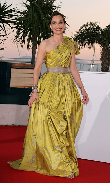 63rd Annual Cannes Film Festival 2010 Closing Ceremony Kristin Scott Thomas