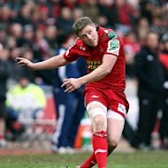 Rhys Priestland suffered an Achilles injury against Exeter