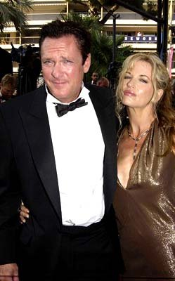 Michael Madsen and wife