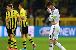 Dortmund was the better side, admits Ramos after drubbing
