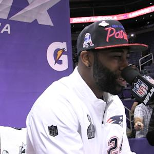 New England Patriots cornerback Darrelle Revis on best corner in the league: 'I respect them all'