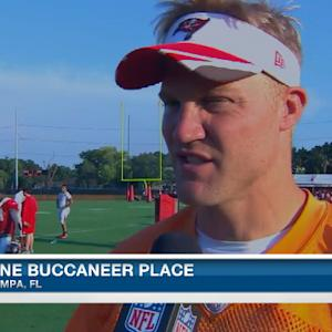 Tampa Bay Buccaneers quarterback Josh McCown talks new offensive weapons