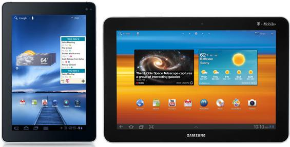Android is nipping at Apple's heels in the tablet market