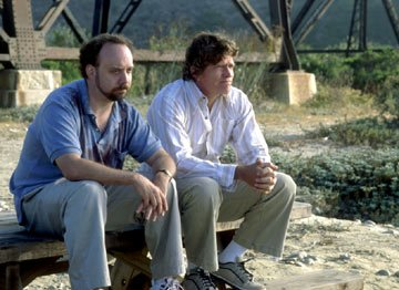 Paul Giamatti and Thomas Haden Church in Fox Searchlight's Sideways