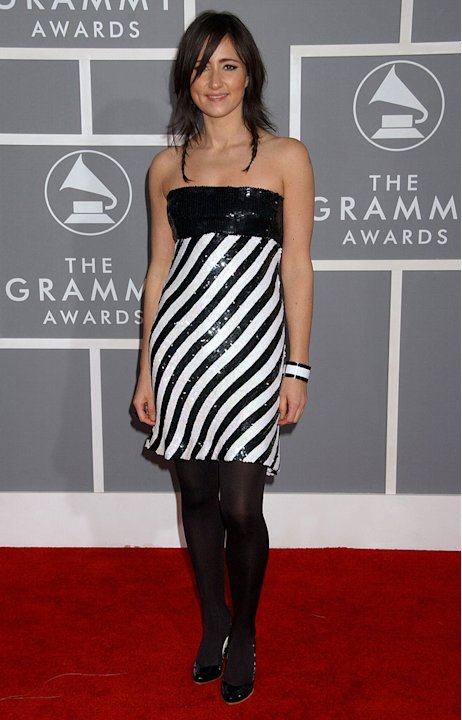 KT Tunstall at The 49th Annual Grammy Awards.