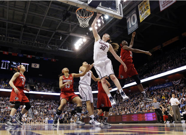 NCAA Womens Basketball: American Athletic Conference Tournament-UConn vs Louisville