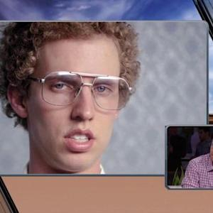 Philadelphia Eagles quarterback Nick Foles or Napoleon Dynamite?