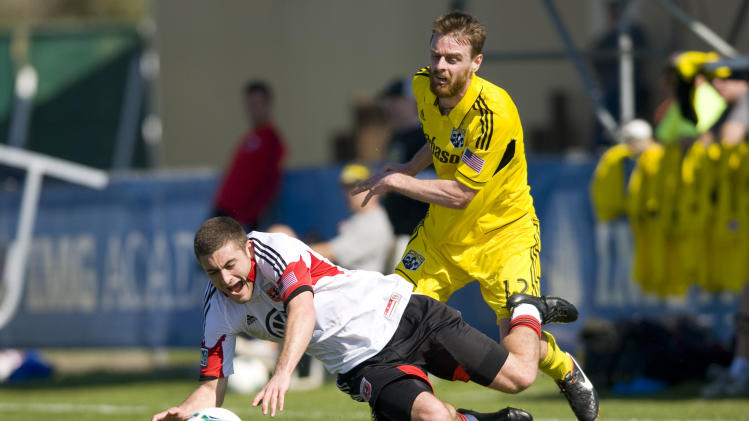 MLS: Preseason-Columbus Crew vs D.C. United