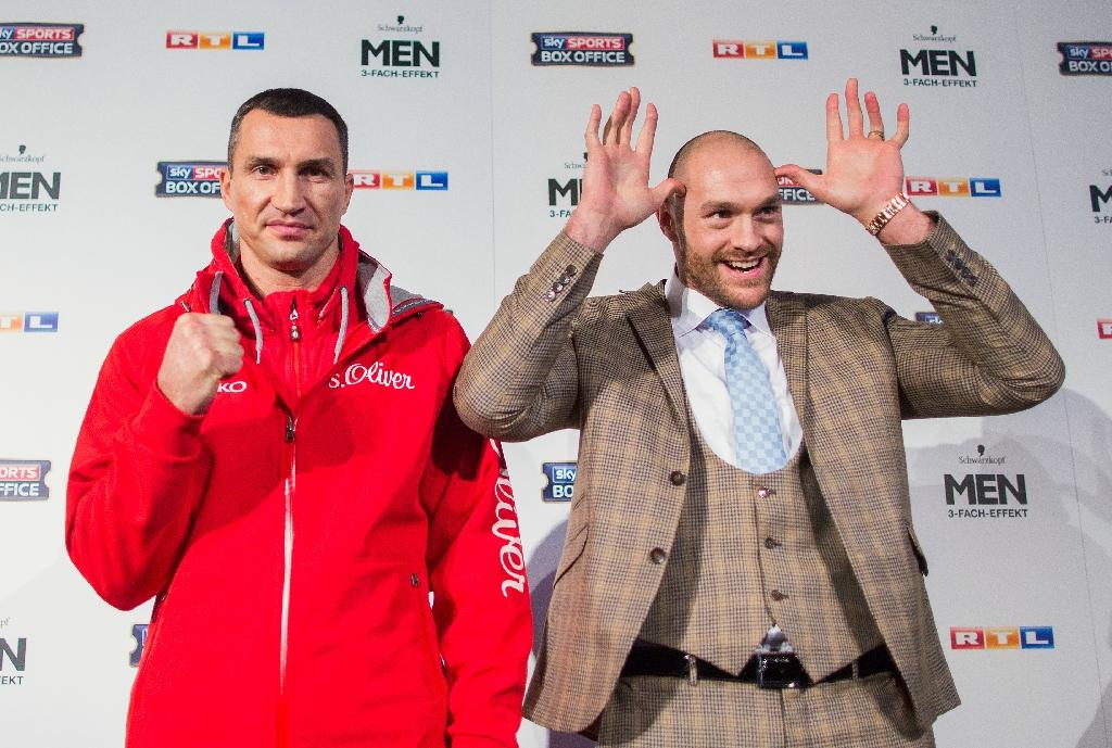 Britain's Fury much to prove against heavyweight champion Klitschko