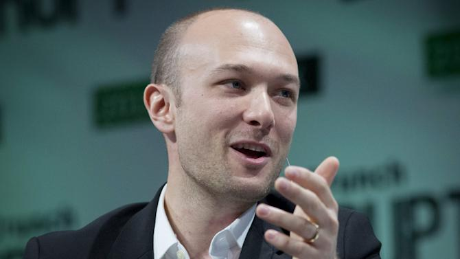 Lyft CEO Green speaks during the TechCrunch Disrupt event in New York