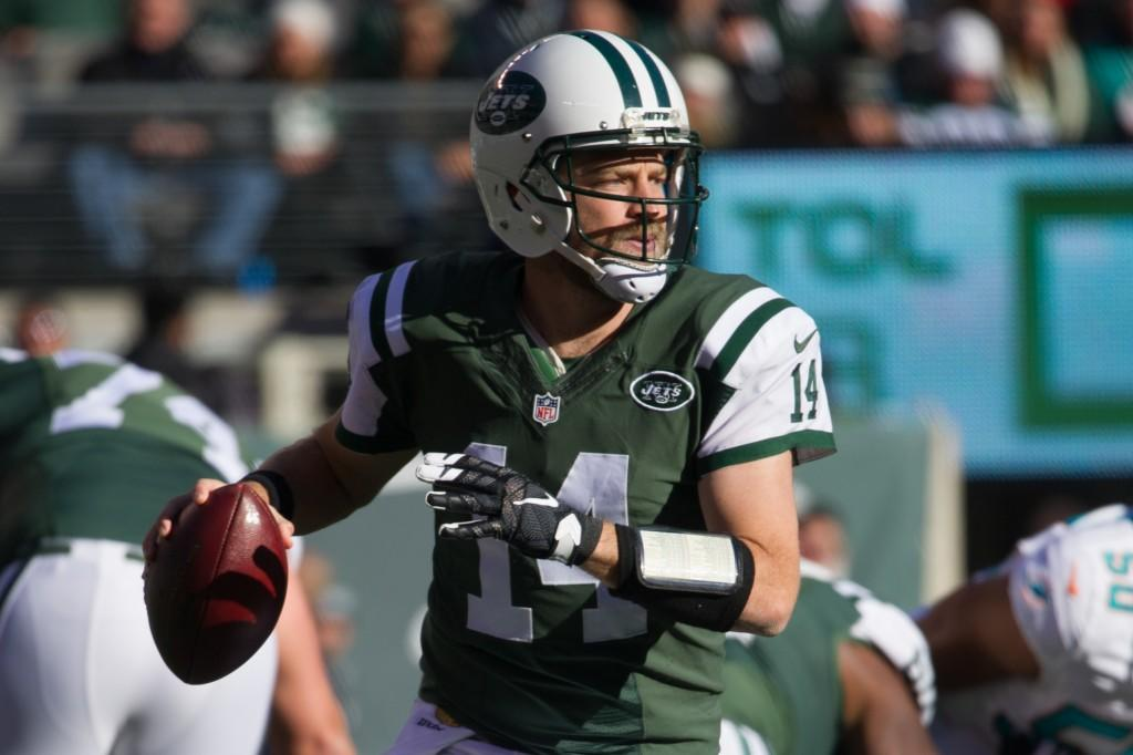 Jets Receivers Go to Bat for Fitzpatrick