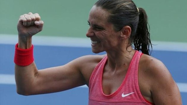 Roberta Vinci - US Open 2013 (Reuters)