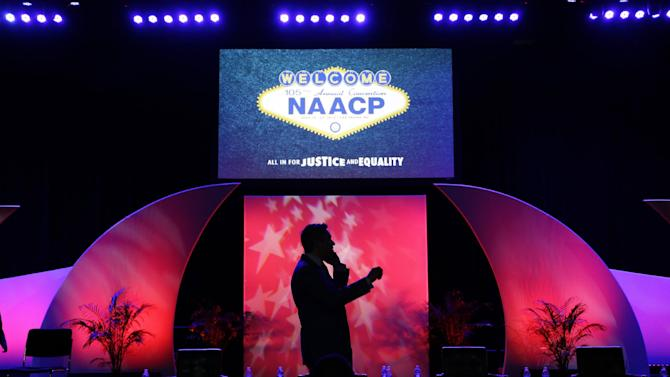 the NAACP annual convention
