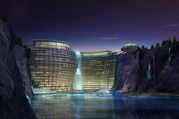 Underground resort in Chi…