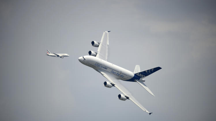 Scenes from the 2013 Paris Air Show