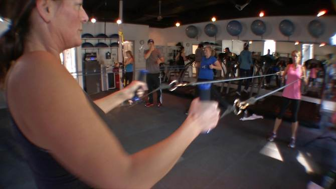 Exercise tubing is still great way to burn calories