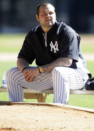 JOBA CHAMBERLAIN suffers grotesque ankle injury while bouncing on ...