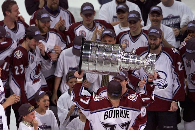 Stanley Cup X Bourque
