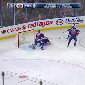 Wheeler opens the scoring