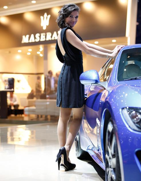 Ladies of the 2012 Geneva Motor Show