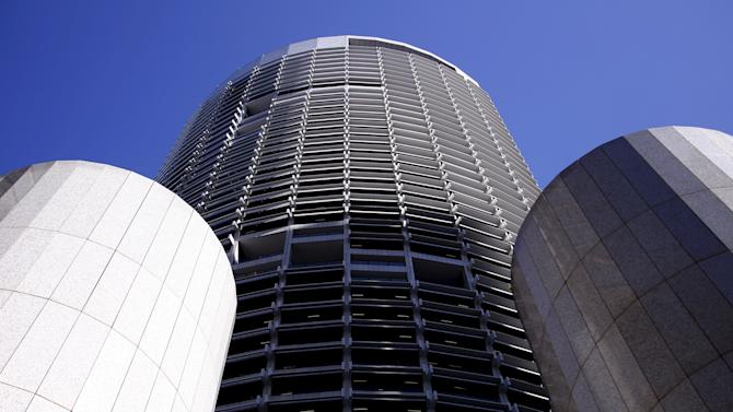 A building owned by Morgan Stanley's Australian real estate unit Investa Property Group can be seen in central Sydney