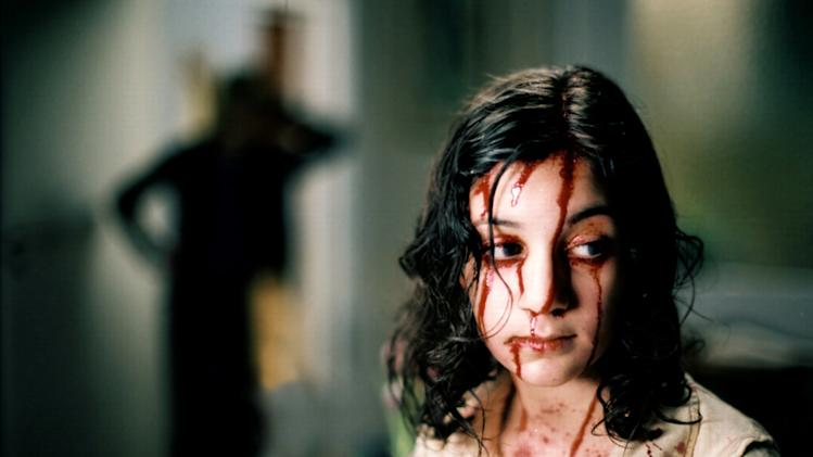 Lina Leandersson Let the Right One In Production Stills Magnolia 2008