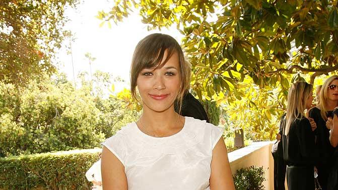 "Rashida Jones inside the ""Couture Cares"" exclusive Nina Ricci fashion show and luncheon to benefit Revlon/UCLA sponsored by Neiman Marcus."