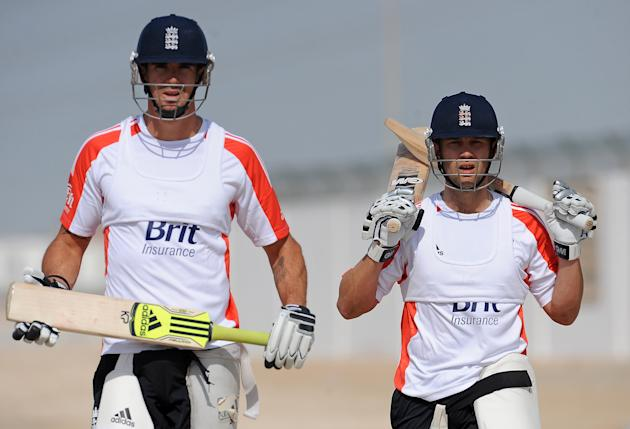Jonathan Trott and Kevin Pietersen