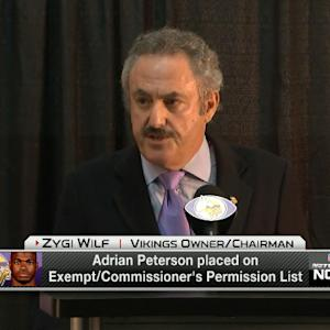 Zygi Wilf: 'We made mistake and needed to get this right'