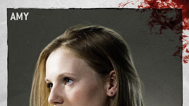 "Emma Bell stars as Amy in ""The Walking Dead."""