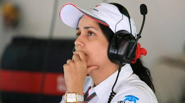 Monisha Kaltenborn of Sauber F1 Team