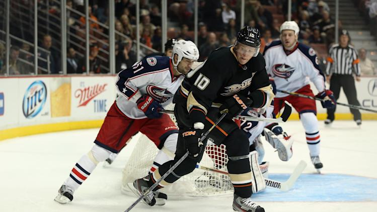Columbus Blue Jackets v Anaheim Ducks