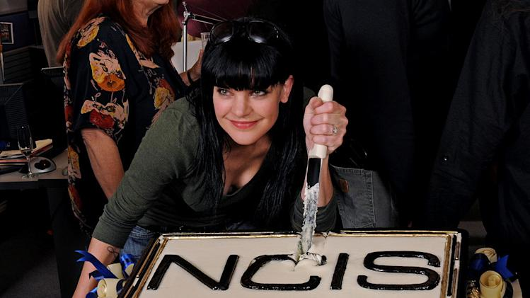 "Pauley Perrette attends CBS' ""NCIS"" celebration of their 200th episode on January 3, 2012 in Valencia, California."
