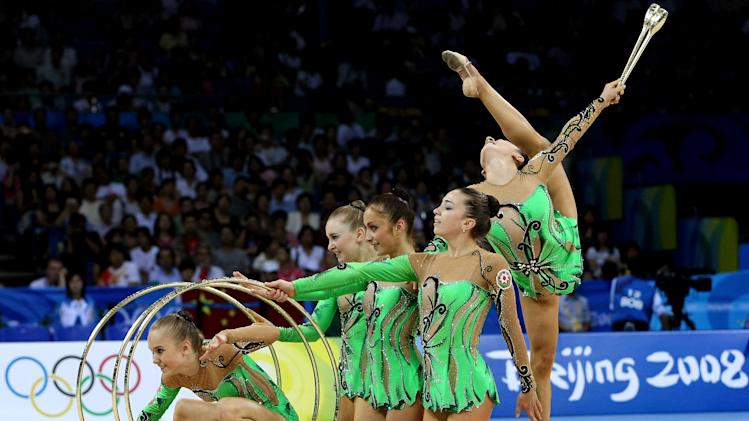 Olympics Day 16 - Rhythmic Gymnastics