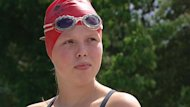 Annaleise Carr, 14, hopes to become the youngest person to ever swim across Lake Ontario.
