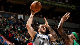 Pekovic hammers Celtics in Minnesota's 110-100 win