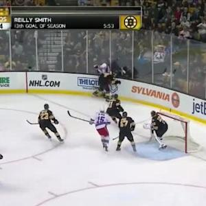 Adam McQuaid Hit on Matt Hunwick (07:06/2nd)