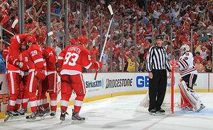 NHL Playoff Game Day 21: Blackhawks-Red Wings