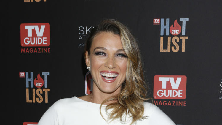 Natalie Zea attends TV Guide Magazine's 2012 Hot List Party at Skybar at the Mondrian Hotel on November 12, 2012 in West Hollywood, California.  (Photo by Todd Williamson/Invision/AP Images)